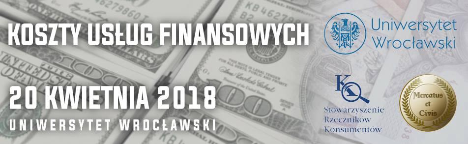 baner Konferencja Koszty usług finansowych_UWr 20.04.2018_Mercatus et Civis