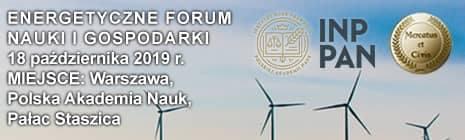 baner Energetyczne Forum Nauki i Gospodarki 2019
